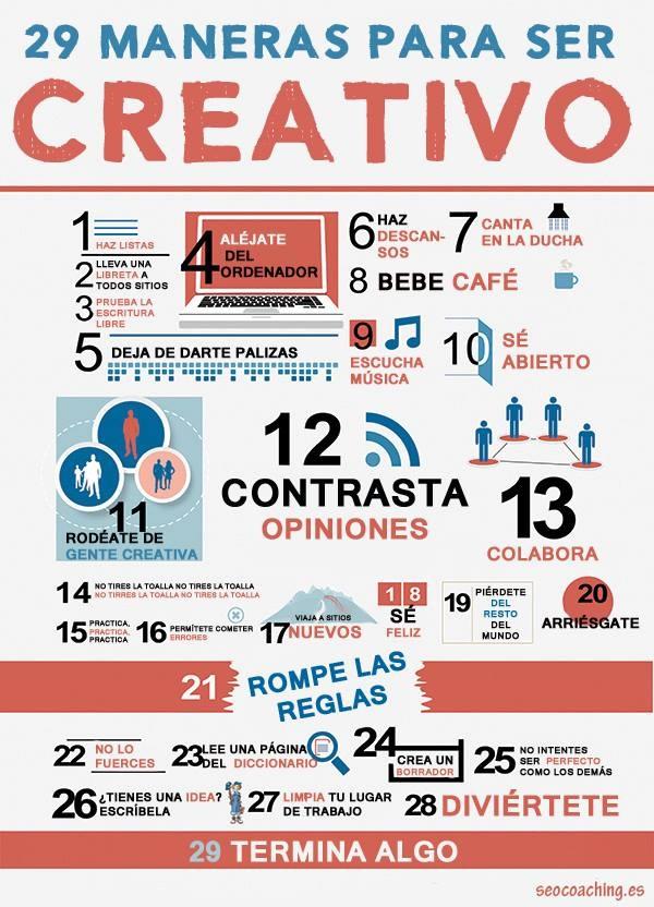 29 maneras_creatividad