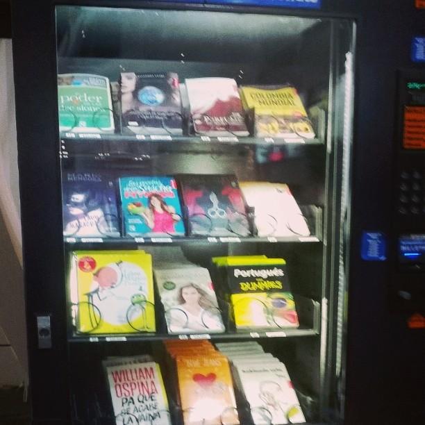 maquina de libros